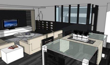 Rénovation complète d'un appartement place de Metz Grenoble