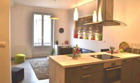 Après Rénovation complète d'un appartement rue Lachmann Grenoble