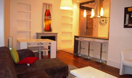 Après Rénovation complète d'un appartement rue docteur Mazet Grenoble