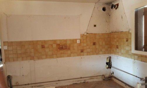 Avant Rénovation totale d'une maison Grenoble