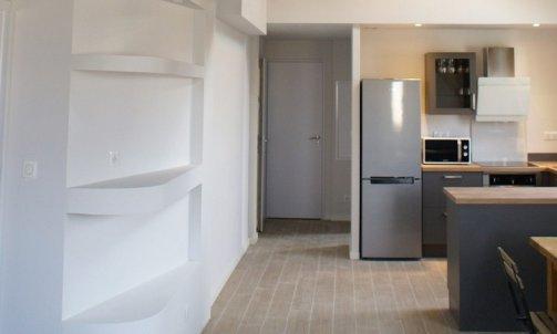 Après Réaménagement d'un appartement rue Docteur Mazet Grenoble