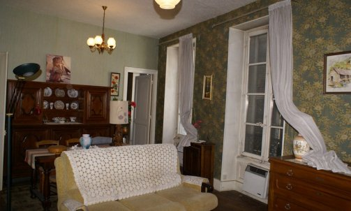 Avant Rénovation complète d'un appartement rue docteur Mazet Grenoble