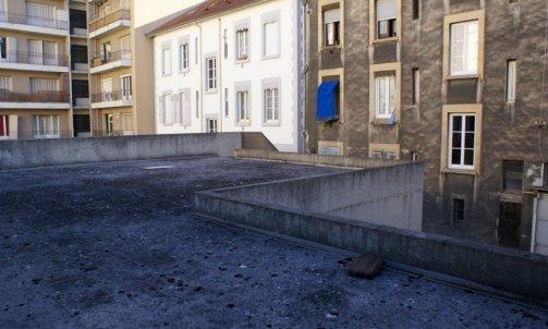 Avant Rénovation complète d'un bâtiment rue Barbillon Grenoble